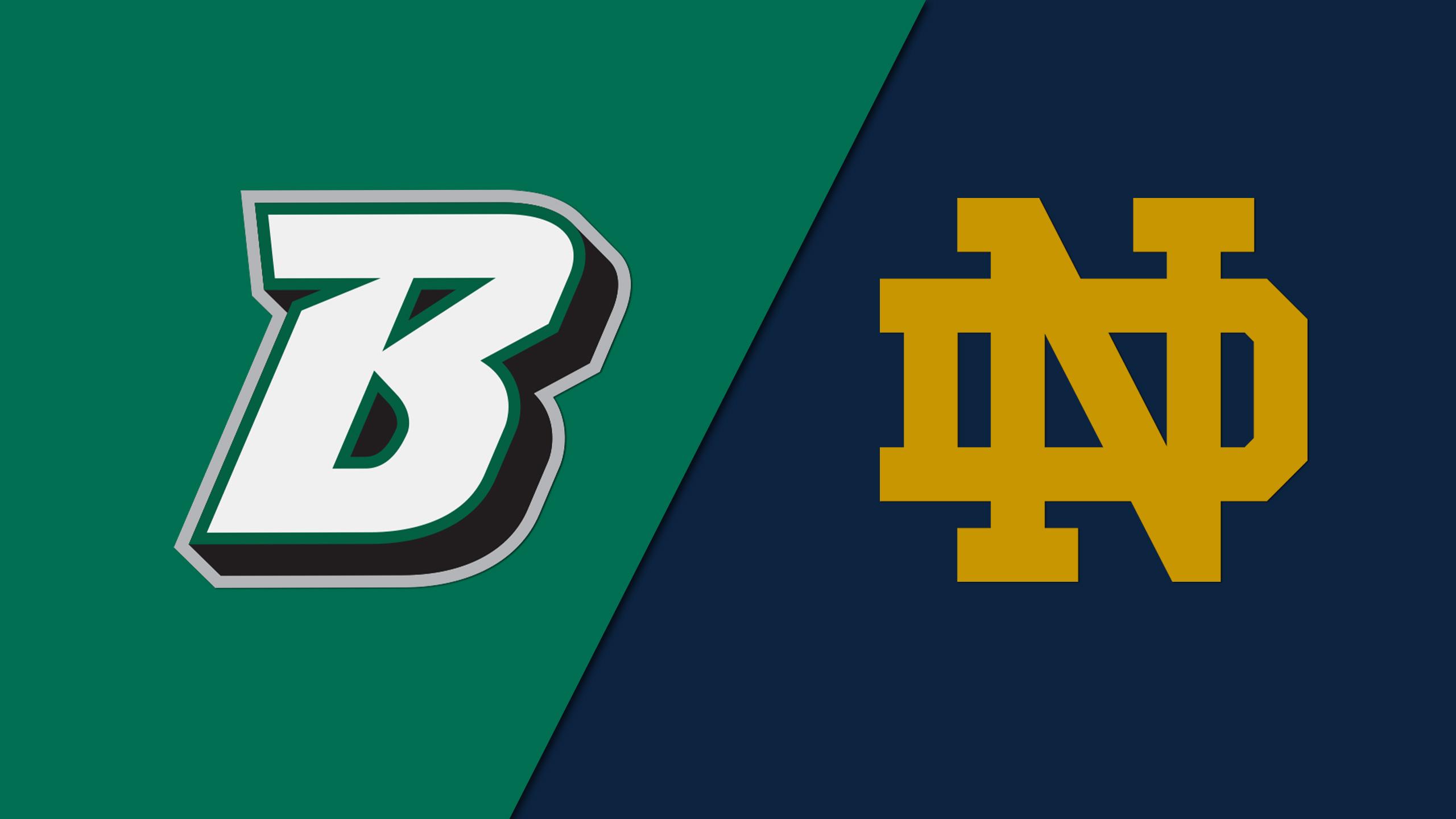 Binghamton vs. #2 Notre Dame (W Basketball)