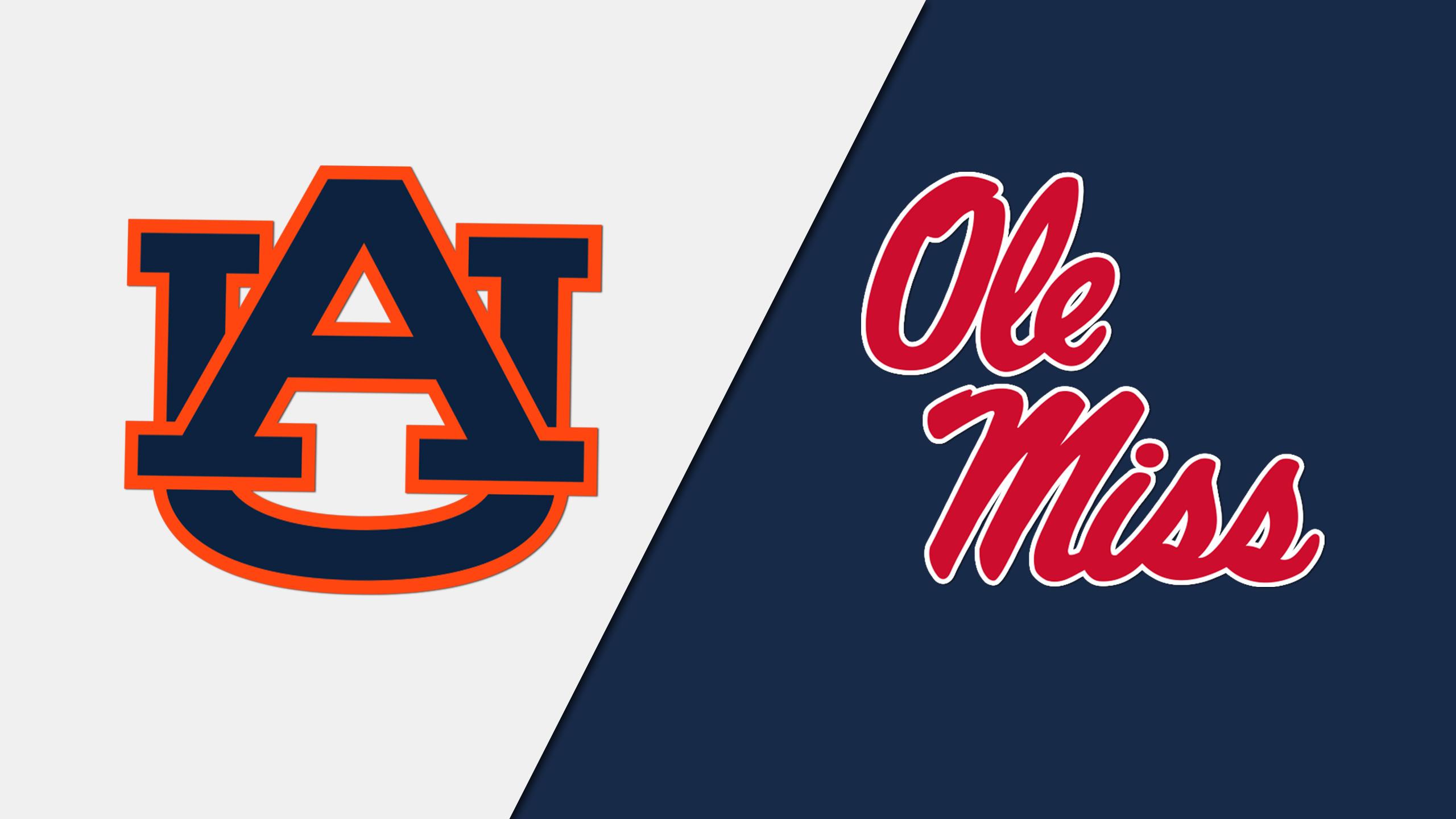 Auburn vs. Ole Miss (Football) (re-air)