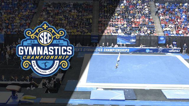 SEC Gymnastics Championship - Floor (Evening Session)