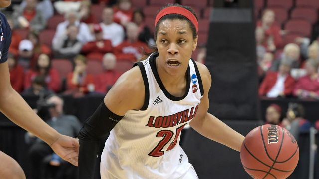 #8 Michigan vs. #1 Louisville (Second Round) (NCAA Women's Basketball Championship)
