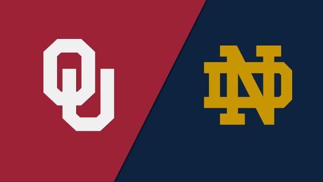 #3 Oklahoma vs. #24 Notre Dame (Softball)