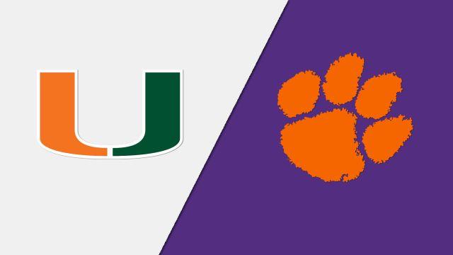 Miami vs. Clemson (W Soccer)