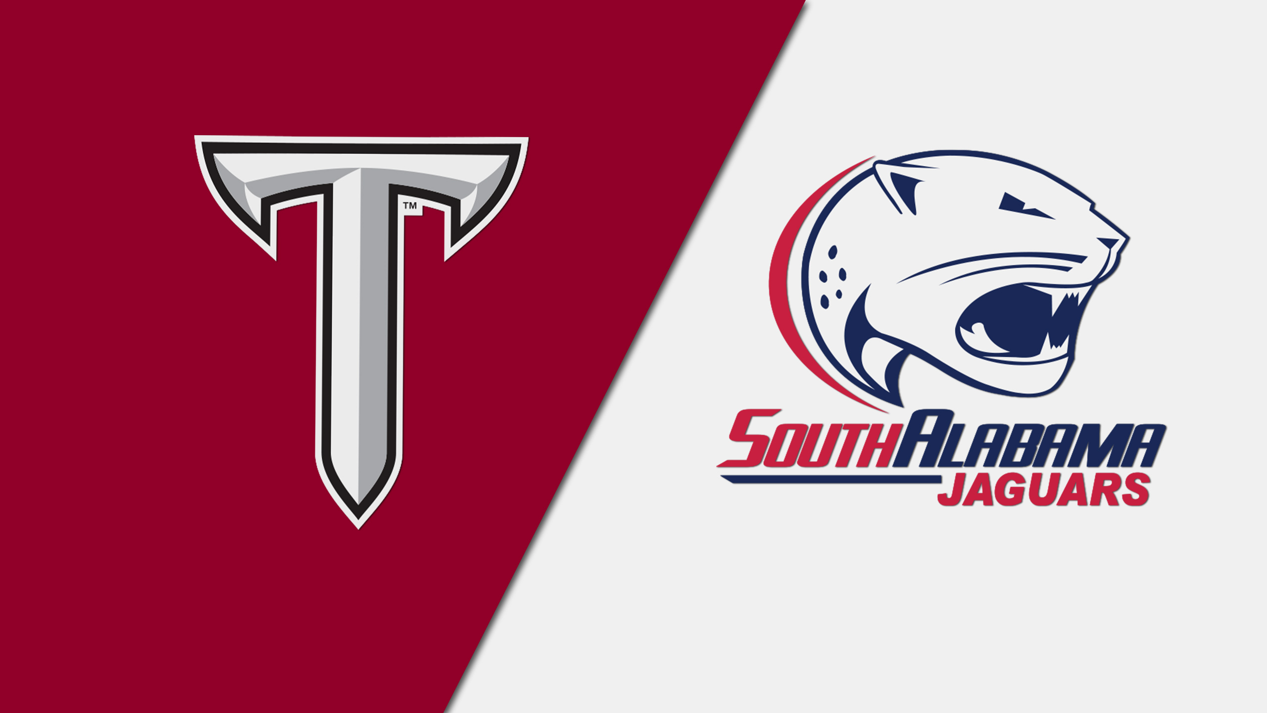 Troy vs. South Alabama (Football) (re-air)