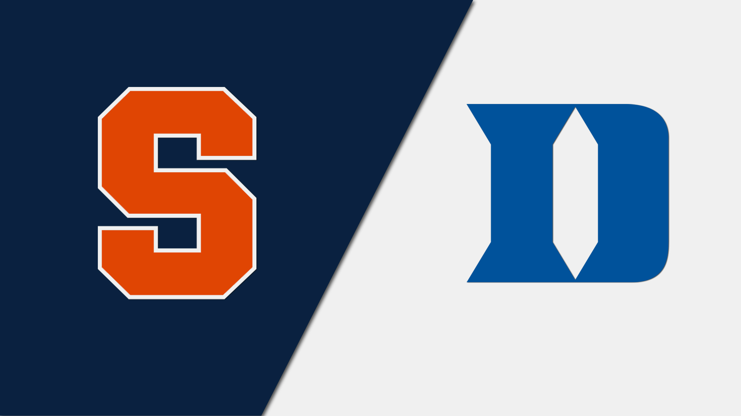 Syracuse vs. #20 Duke (M Basketball) (re-air)