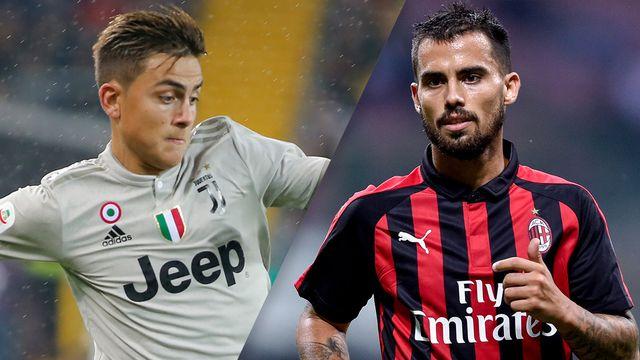 In Spanish-Juventus vs. AC Milan