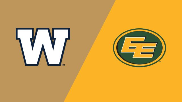 Winnipeg Blue Bombers vs. Edmonton Eskimos (Canadian Football League)