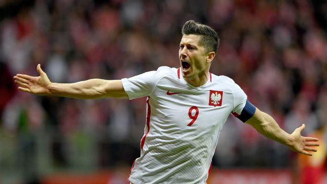 Estrelas da Rússia: Lewandowski e Werner