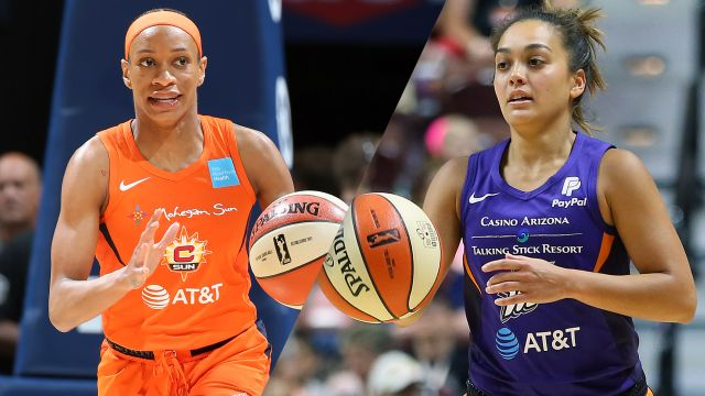Wed, 8/14 - Connecticut Sun vs. Phoenix Mercury