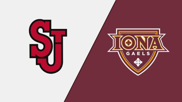 St. John's vs. Iona (W Basketball)