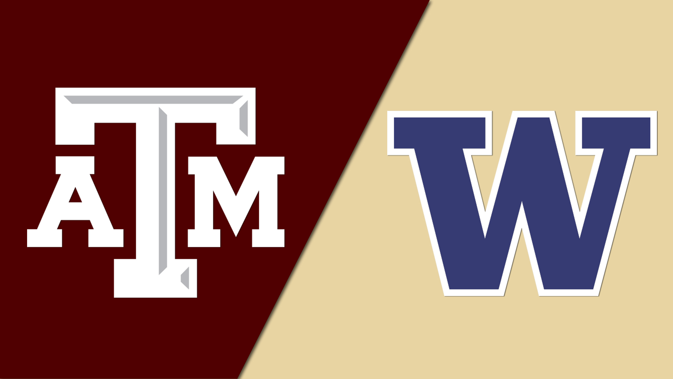 Texas A&M vs. Washington (Vancouver Showcase)