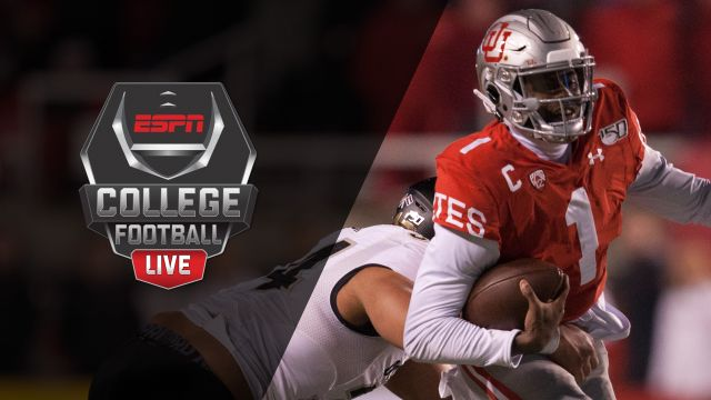 Thu, 12/5 - College Football Live Presented by Dr Pepper