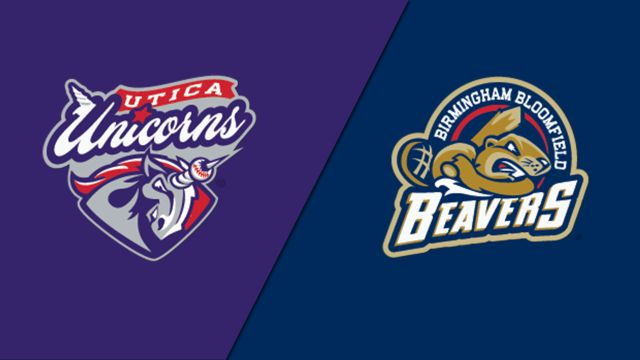 Unicorns vs. Beavers (USPBL)