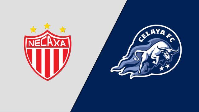 In Spanish-Rayos del Necaxa vs. Toros del Celaya (Jornada 4) (Copa MX)