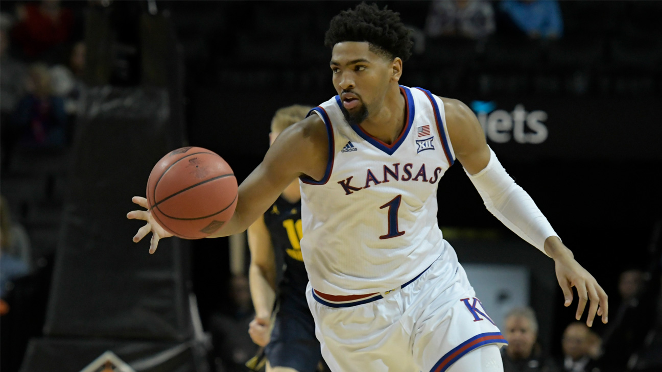 #7 Kansas vs. West Virginia (M Basketball) (re-air)