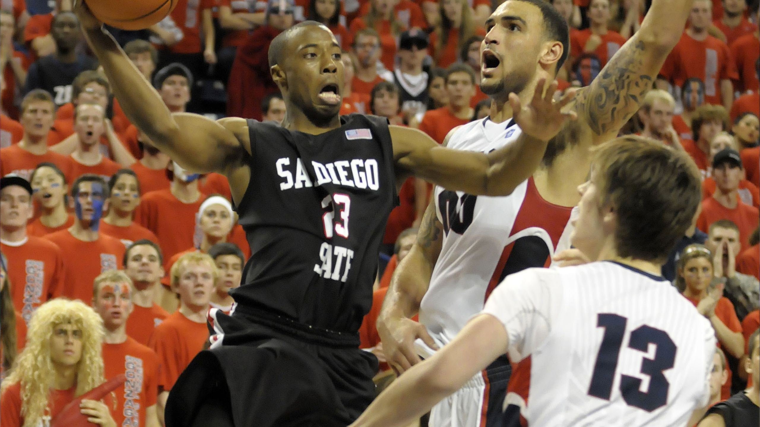 San Diego State Aztecs vs. Gonzaga Bulldogs (re-air)