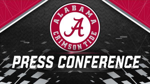 Alabama Football Press Conference