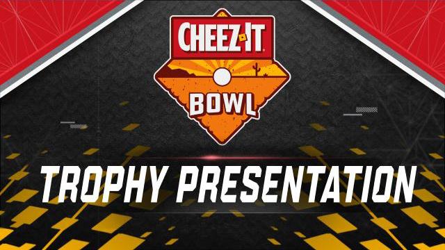 Cheez-It Bowl Trophy Ceremony Presented by Capital One (Bowl Game)