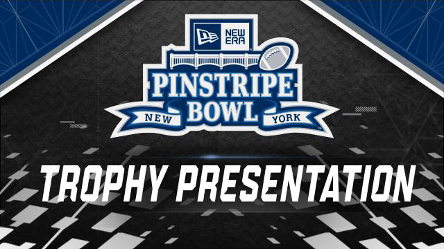 New Era Pinstripe Bowl Trophy Ceremony (Bowl Game)
