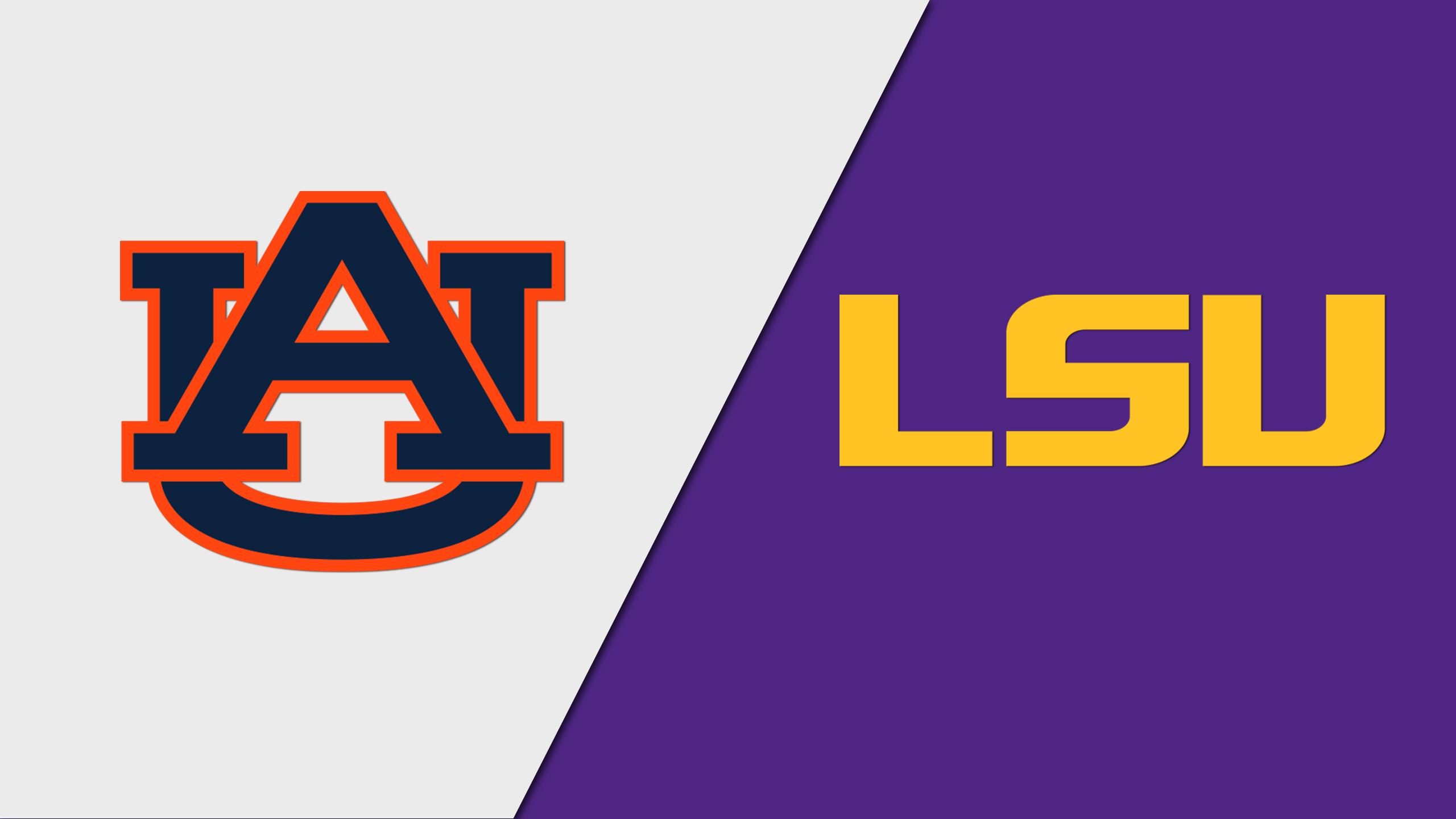 Auburn vs. LSU (Third Round)