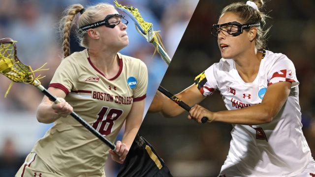 Boston College vs. Maryland (Championship) (W Lacrosse)
