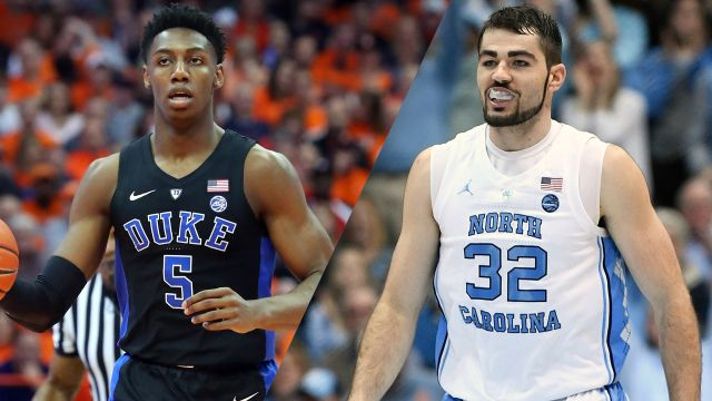 #4 Duke vs. #3 North Carolina (re-air)