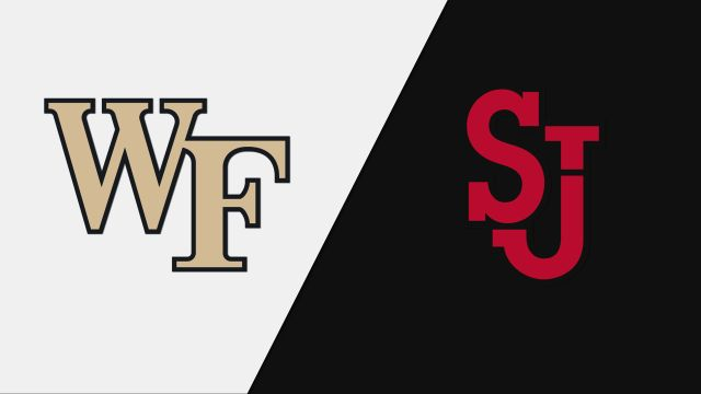 Wake Forest vs. St. John's (W Basketball)