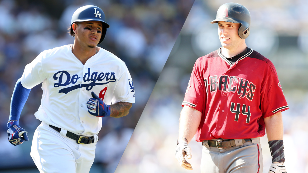 Los Angeles Dodgers vs. Arizona Diamondbacks (re-air)