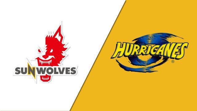 Sunwolves vs. Hurricanes
