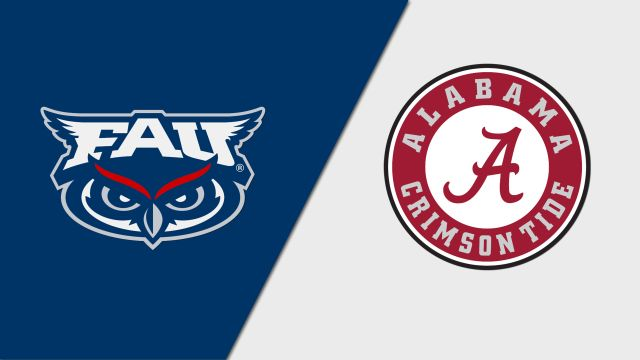 Florida Atlantic vs. Alabama (M Basketball)