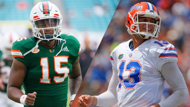 Sat, 8/24 - Miami vs. #8 Florida (Football)