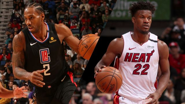 Fri, 1/24 - LA Clippers vs. Miami Heat