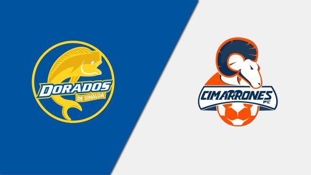 In Spanish-Dorados de Sinaloa vs. Cimarrones de Sonora (Jornada 4) (Ascenso MX)