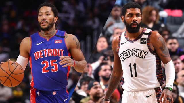 Detroit Pistons vs. Brooklyn Nets