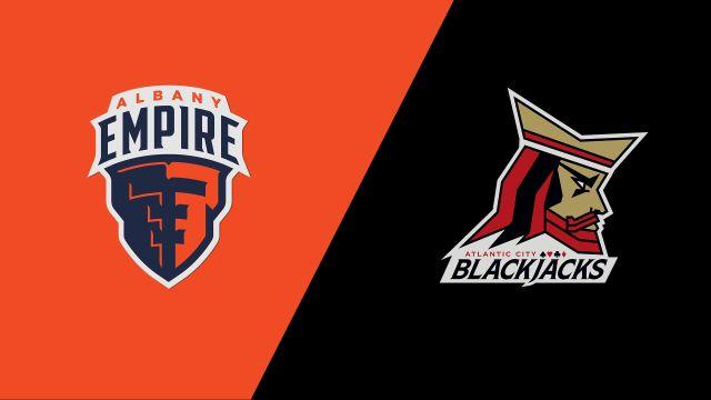 Albany Empire vs. Atlantic City Blackjacks (Arena Football League)