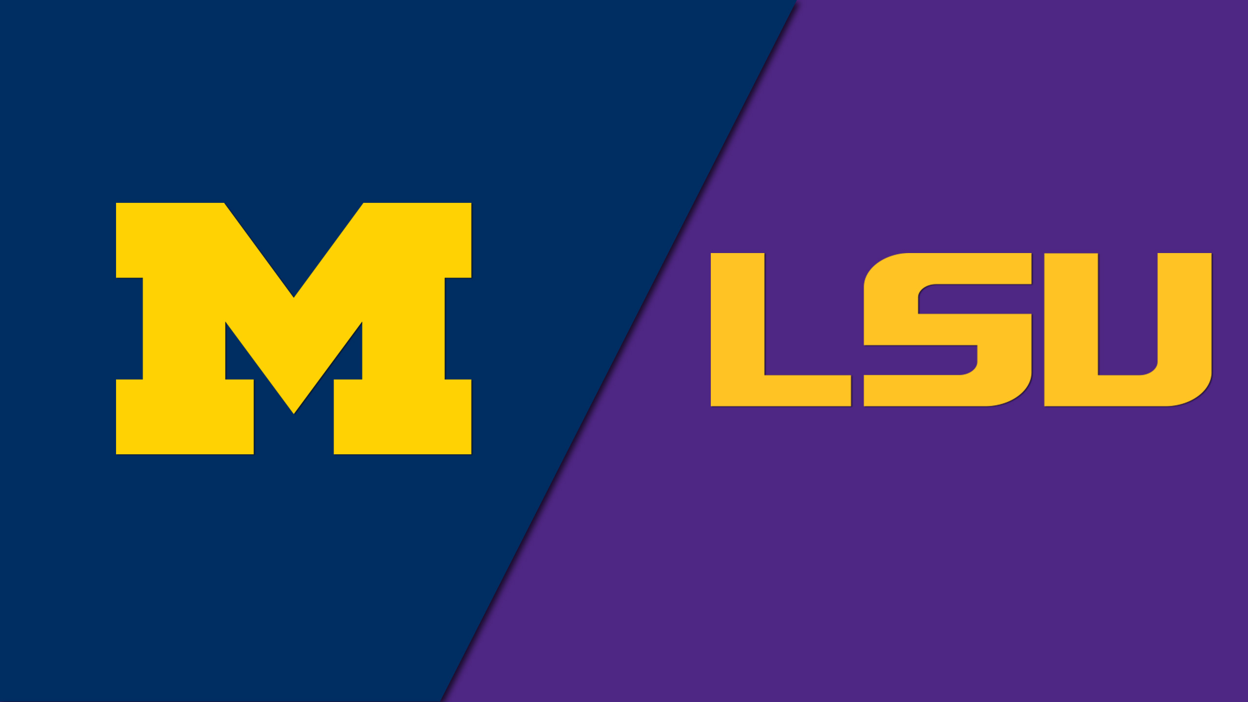Michigan vs. #7 LSU (Softball)