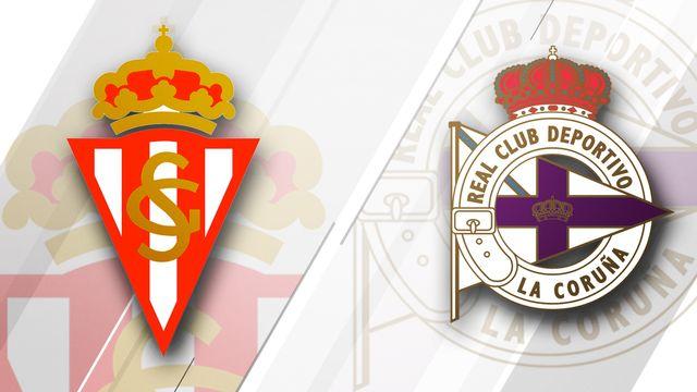 Sporting Gijon vs. Deportivo La Coruna