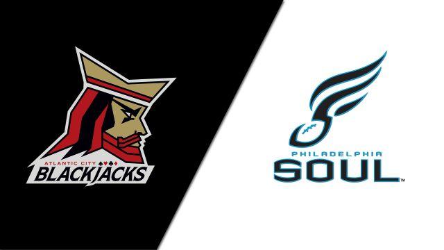 Atlantic City Blackjacks vs. Philadelphia Soul