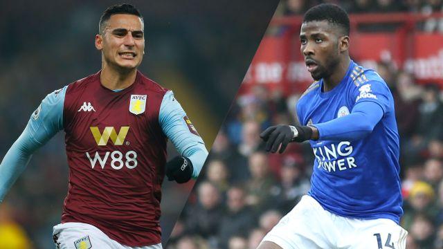 Aston Villa vs. Leicester City