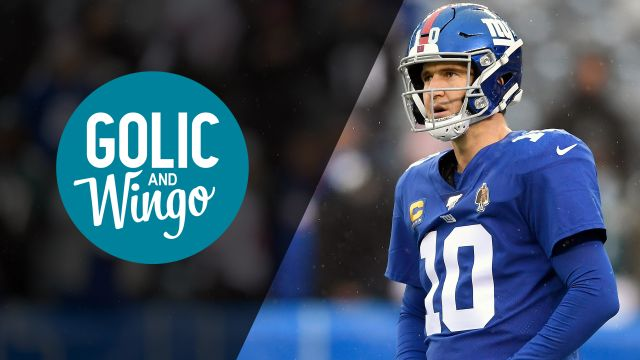 Thu, 1/23 - Golic and Wingo Presented by Progressive
