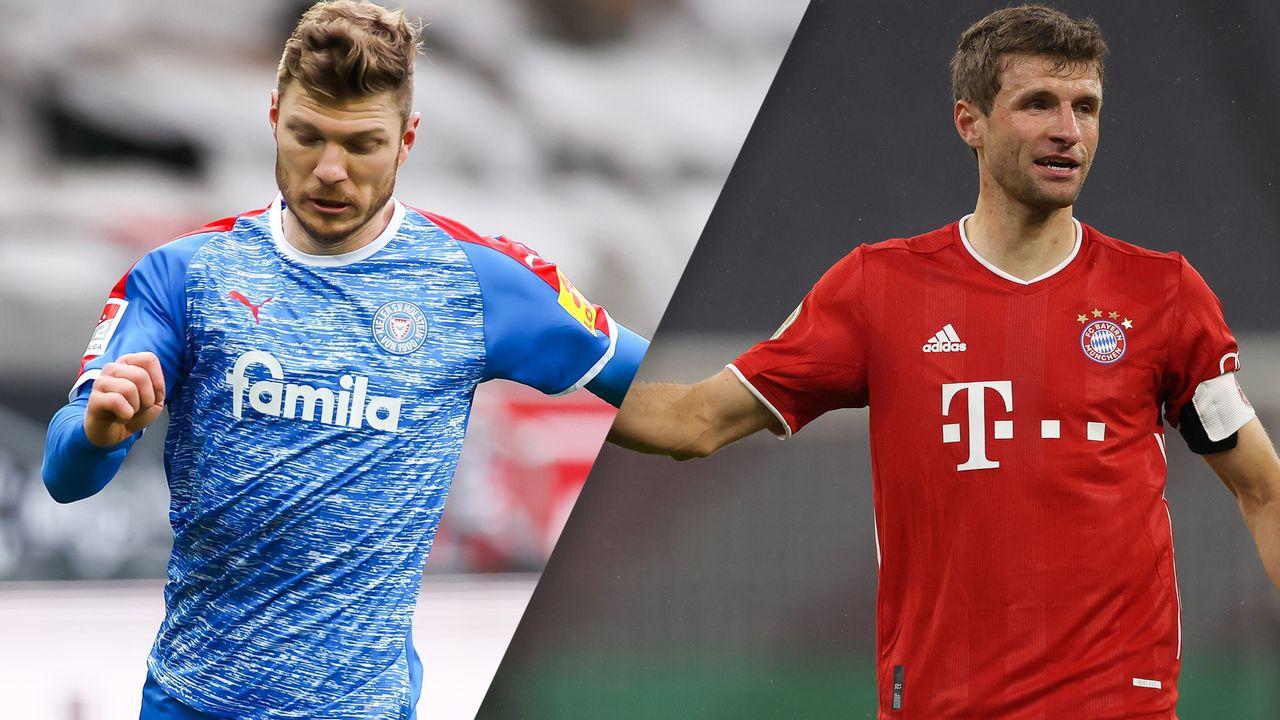 In Spanish-Holstein Kiel vs. FC Bayern München (German Cup ...