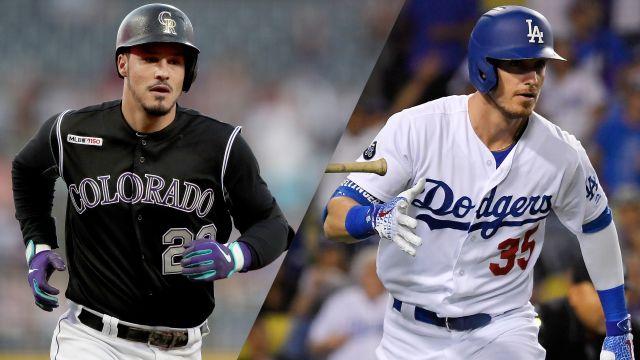 In Spanish-Colorado Rockies vs. Los Angeles Dodgers