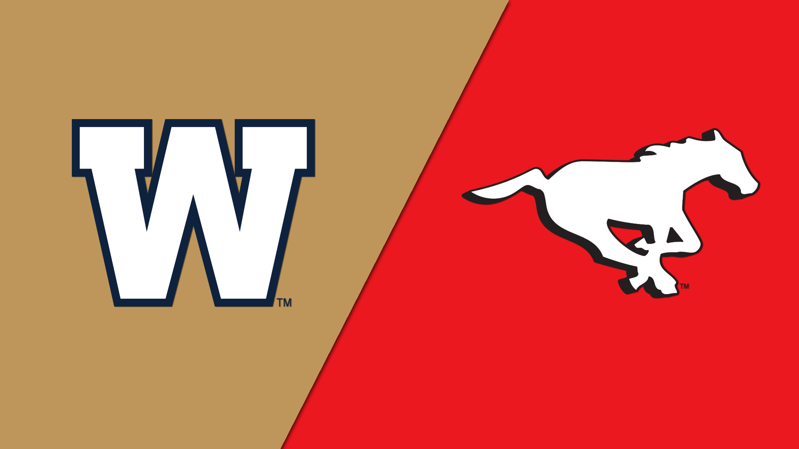 Winnipeg Blue Bombers vs. Calgary Stampeders