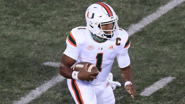9 Miami Vs Virginia Tech Football Watch Espn
