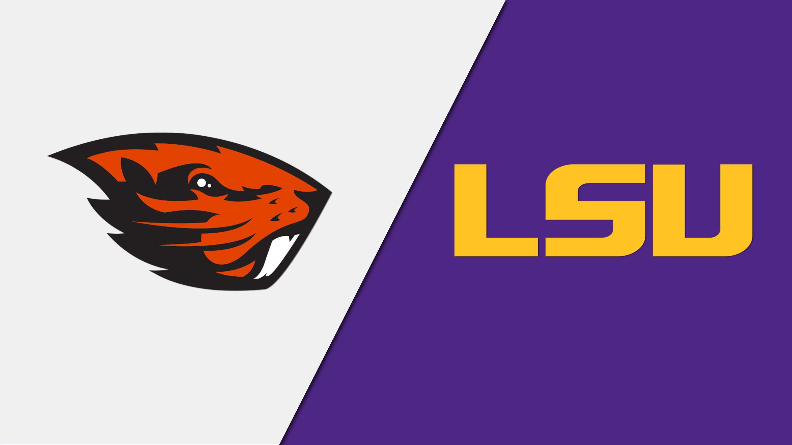 Oregon State vs. LSU (W Gymnastics)
