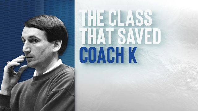 ESPN Films Presents: The Class That Saved Coach K