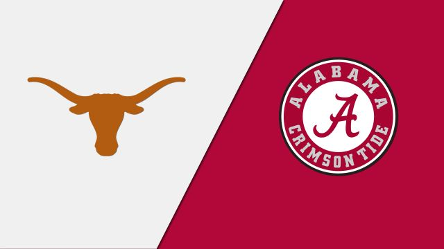 #2 Texas vs. #1 Alabama (re-air)