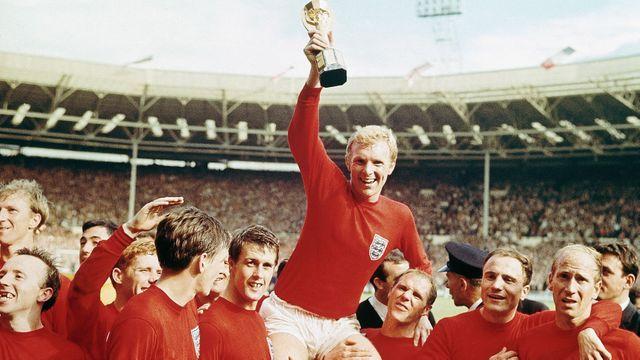O título mundial da Inglaterra em 1966