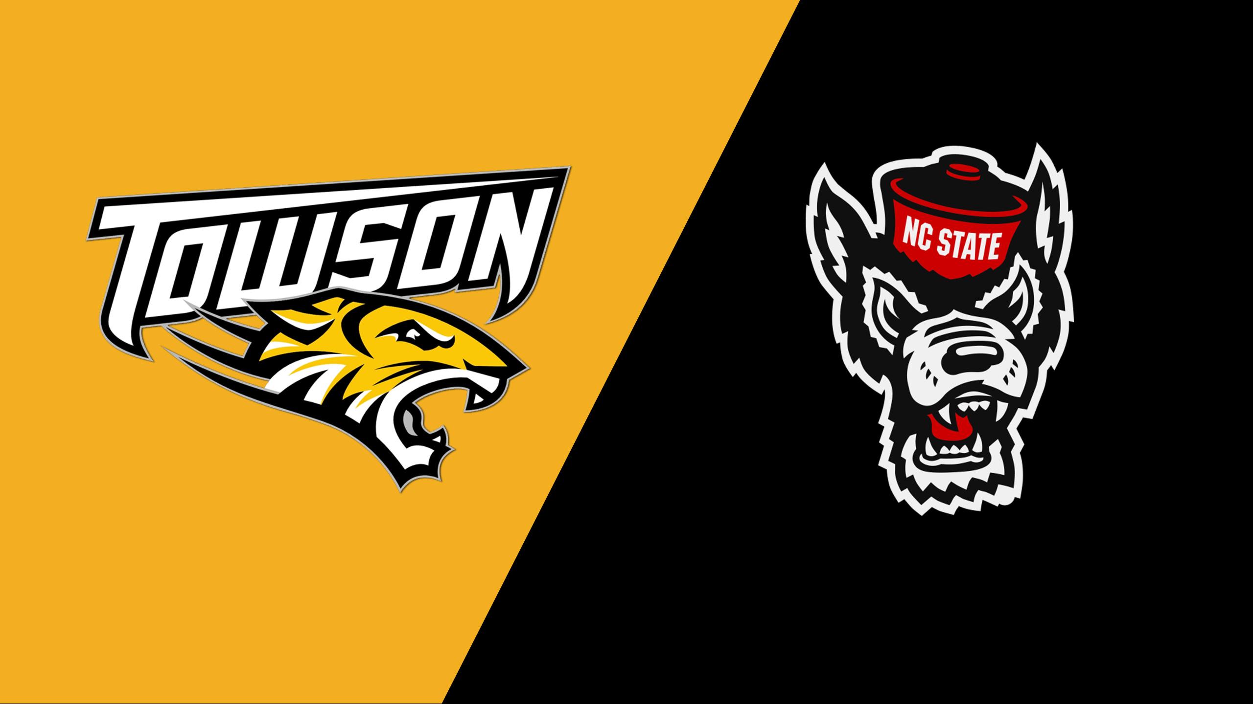 Towson vs. NC State (Baseball)