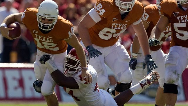 Oklahoma Sooners vs. Texas Longhorns (re-air)