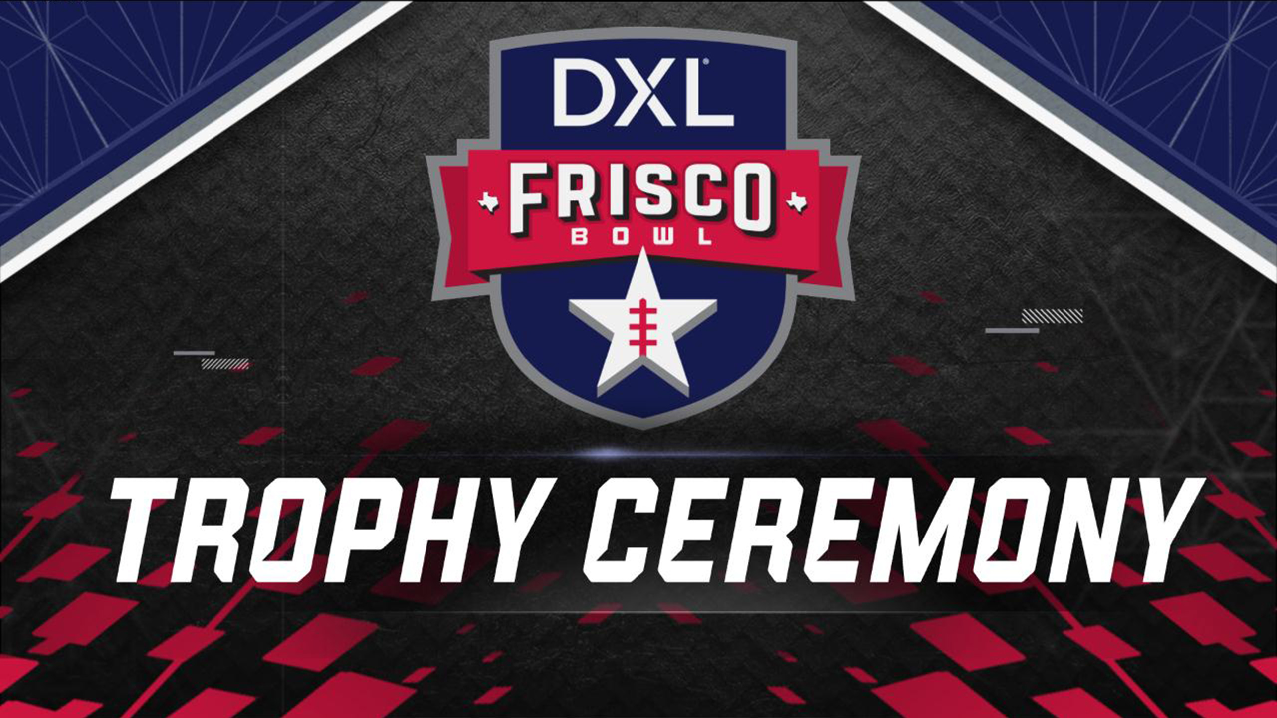 DXL Frisco Bowl Trophy Ceremony Presented by Capital One